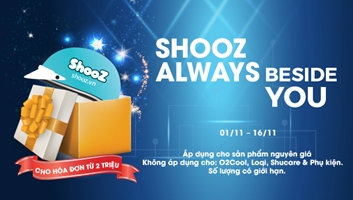 SHOOZ ALWAYS BESIDE YOU